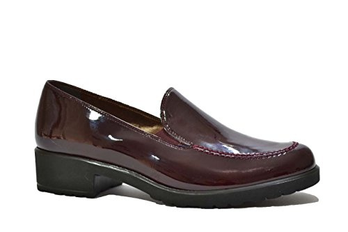 Melluso Mocassini scarpe donna bordò L5053 BORDO