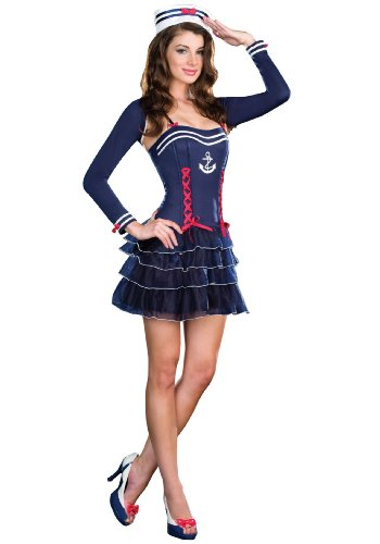 Surf City Sweetie Adult Costume Size 2-6 -