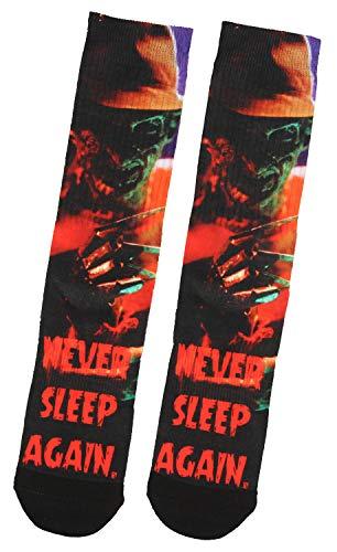 Nightmare On Elm Street Freddy Krueger Never Sleep Again Sublimated Crew -