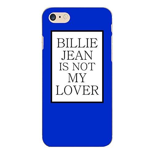 """Disagu Design Case Coque pour Apple iPhone 7 Housse etui coque pochette """"BILLIE JEAN IS NOT MY LOVER"""""""