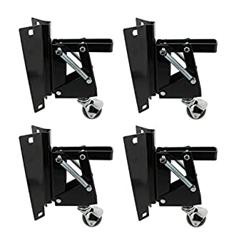 Peachy Dct Heavy Duty Retractable Workbench Contractor Saw Swivel Caster Wheels Assembly Set With Mounting Plate Bracket 4 Pack Gmtry Best Dining Table And Chair Ideas Images Gmtryco