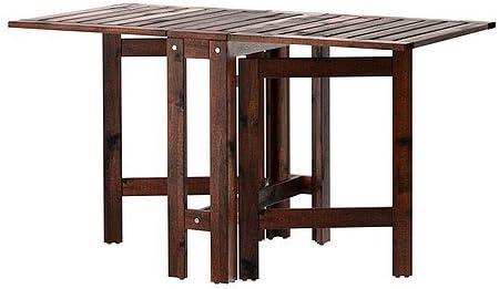 Amazon Com Ikea Applaro Gateleg Table Brown 20 77 133x62 Cm Kitchen Dining