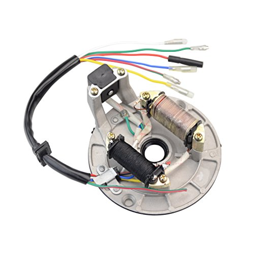 GOOFIT 2 Coil Magneto Stator for 50cc 70cc 90cc 110cc 125cc Taotao Kazuma SSR Baja Kick Start Dirt Bike ATV