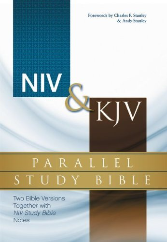 Download NIV & KJV Parallel Study Bible: Two Bible Versions Together with NIV Study Bible Notes (Hardback) - Common pdf epub