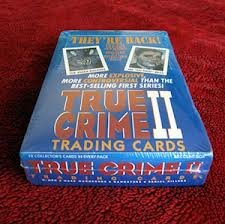 True Crime 2 Trading Cards Factory Sealed Unopened (Unopened Booster Box)