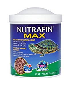 Nutrafin Max Gammarus Pellets Turtles Food [Set of 2] Size: 12 oz.