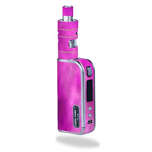 Innokin-Coolfire-IV-Plus-70W-iSub-Apex-Vape-E-Cig-Mod-Box-Vinyl-DECAL-STICKER-Skin-Wrap-ONLY-not-actual-vape-or-ecig-Pink-Hot-Pink-Purple-Smoke-Cloud-Clouds
