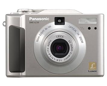 Panasonic product support dmc-lc33.