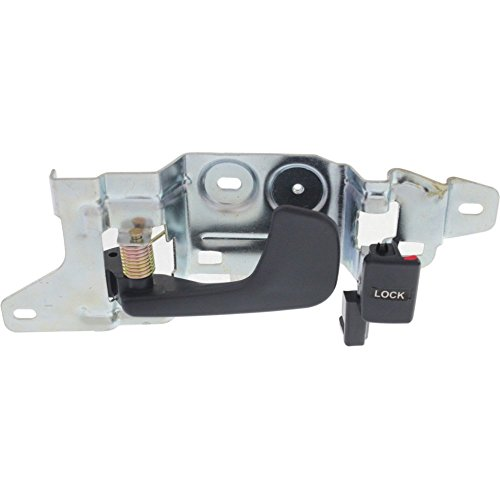 Interior Door Handle compatible with Honda Civic 92-95 Front LH Inside Blue Plastic and Metal Coupe/(Hatchback ()