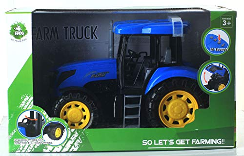 Frog   Utility Tractor Large   Blue