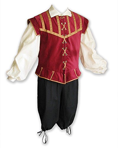 Renaissance Piece Doublet Costume Breeches product image