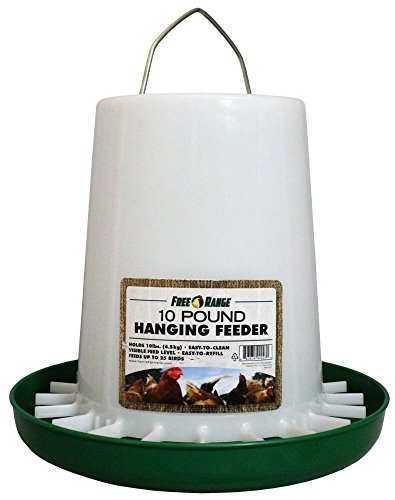 Harris Farms Plastic Hanging Poultry Feeder, 10 Pound