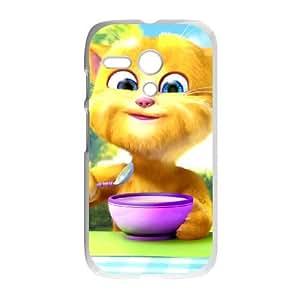 Talking Ginger, a cat Motorola G Cell Phone Case White Wbiaw