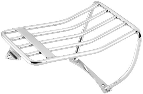 Biker's Choice Luggage Rack for Harley Davidson 2006-13 FXST with 200mm. Tire Bobbed Rear Fender with 2-Up Seat - One -