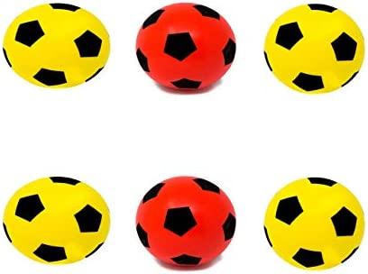 E-Deals - Balón de fútbol de Espuma Suave (20 cm, 2 Unidades ...
