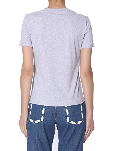 Mujer Moschino T shirt A070805403485 Gris Algodon rYqwPqzdA