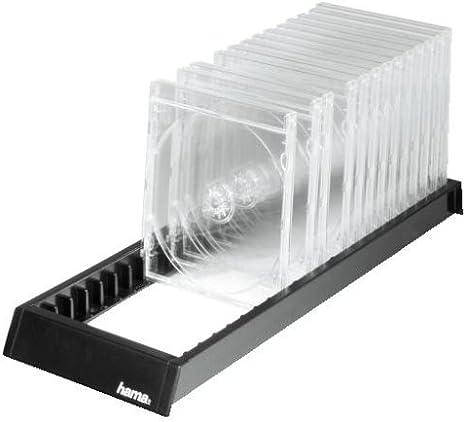 Hama CD Flipper 22 - Estantería para 22 CDs, Color Negro: Amazon.es: Informática