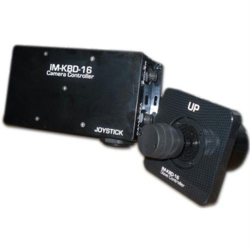 Iris Innovations IM-PTZ-KBD-16 Controller for Im-Ptz-16 Camera (Black) by IRIS USA, Inc.