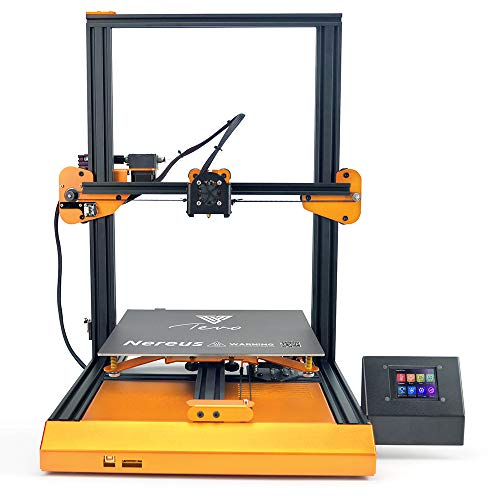 110v Printer (TEVO Nereus WiFi 3D Printer Preassembled 3.2'' LCD Printer with 320x320x400mm Larger Printing Size/Touch Screen/Filament Sensor/Power-Off Resume/Metal Frame 110V US Plug)