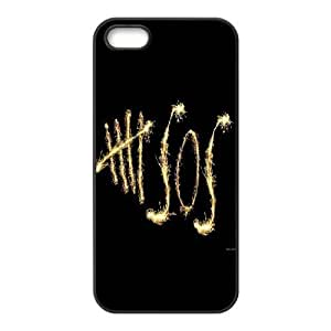 Custom High Quality WUCHAOGUI Phone case 5SOS music band Protective Case For Apple Iphone 5 5S Cases - Case-1