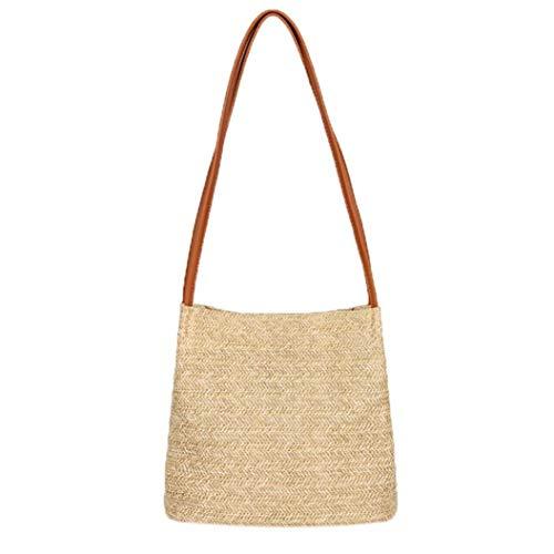 Sale Clearance Women's Canvas Handbags Sunday77 Vintage Female Hobos Single Shoulder Bags Brown