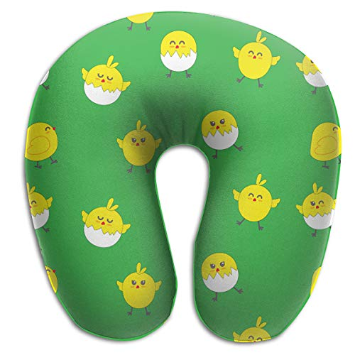 Laurel Neck Pillow Cute Chicken Travel U-Shaped Pillow Soft Memory Neck Support for Train Airplane Sleeping