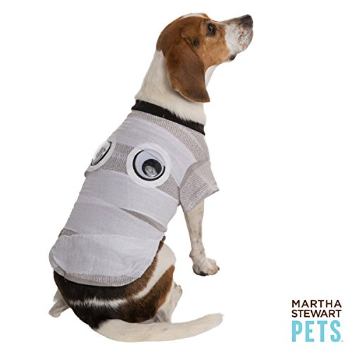 Martha Stewart Pets Pet Halloween White Mummy Pet -