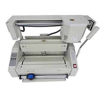 cgoldenwall Hot Melt pegamento máquina de encuadernación manual eléctrica escritorio pegamento libro encuadernación Machi Hot Melt