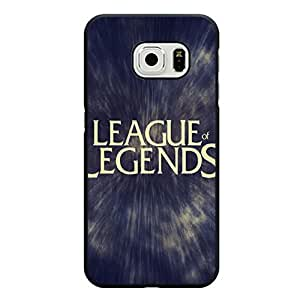 Hot Game League of Legends Logo Phone Case Snap On Samsung Galaxy S6 Edge Wonderful League of Legends Phone Case