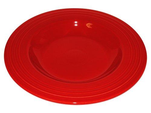 Fiesta 12-Inch Pasta Bowl, Scarlet