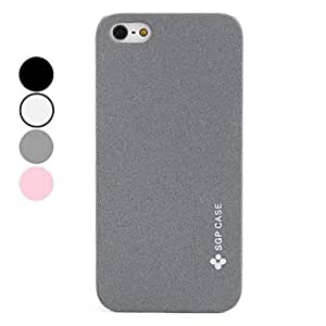 Frosted Design Hard Case for iPhone 5/5S (Assorted Colors) --- COLOR:Gray