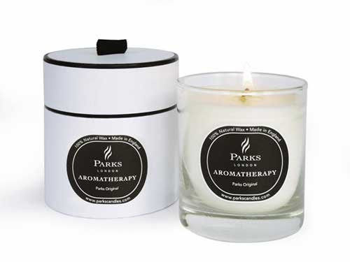 Parks Original - Aromatherapy Scented Candle Gift-Boxed - Parks Candles by Candles - Parks London