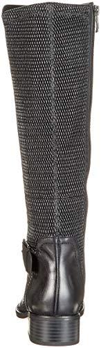 Black Nappa Negro Mujer 22 Botines 25500 para Caprice wXaB1W