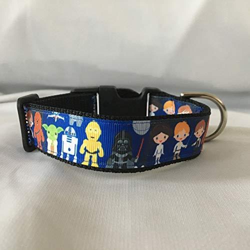Star Wars Dog Collar, Puppy Collar, Custom Dog Collar, Personalized Dog Collar, Star Wars Character ()