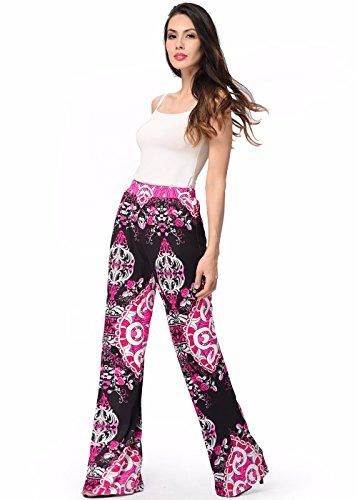 Printed Top & Cropped Pants - 9