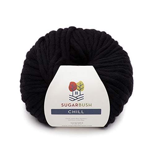 Sugar Bush Yarn Chill Extra Bulky Weight, Coal