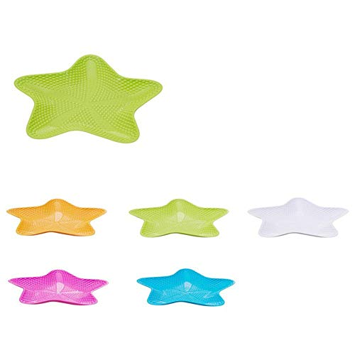 Emily Starfish Shape Dried Fruit Plate Snack Tray Fruit Bowl Dessert Dish Tableware Green
