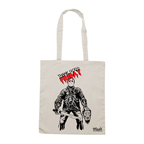 Borsa FRIDAY THE TH - Sand - FILM by Mush Dress Your Style
