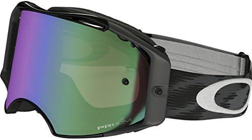 22f020d7f75d Amazon.com  Oakley Airbrake MX Adult Off-Road Motorcycle Goggles Eyewear -  Jet Black Prizm MX Jade One Size Fits All  Automotive
