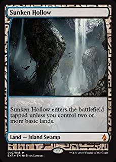 Magic the Gathering - Sunken Hollow - Expedition Lands - Foil & Amazon.com: Magic: the Gathering - Canopy Vista - Expedition Lands ...