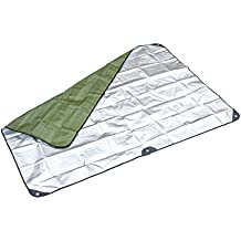SE EB5983GN Survivor Series Thermal Reflective Waterproof Blanket Forest/Military Green