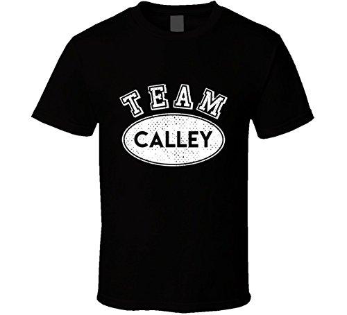 SHAMBLES TEES Team calley Last Name Family Reunion Group T Shirt L - Fashion Calley