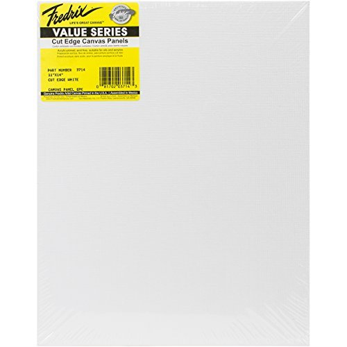 Fredrix Art Canvas Tara Cut Edge Canvas Panel, 11 by 14