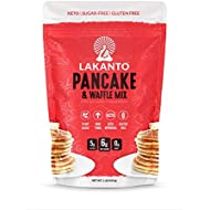 Lakanto Low-Carb Pancake and Waffle Mix, Gluten-Free (1 Pound)