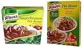 Knorr Pot Roast, Sauerbraten Mix, CASE 12x2oz