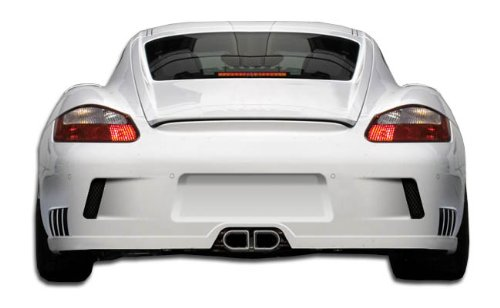 Duraflex ED-EXG-272 GT-2 Look Rear Bumper Cover - 1 Piece Body Kit - Compatible For Porsche Cayman 2005-2008
