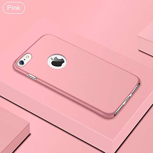 6bb0811b8ec Maxlight Ultra Thin PC Matte Case for iPhone 7 8 Plus XR XS Max X Simple  Plain Phone Cases (Pink, for iPhone XR)