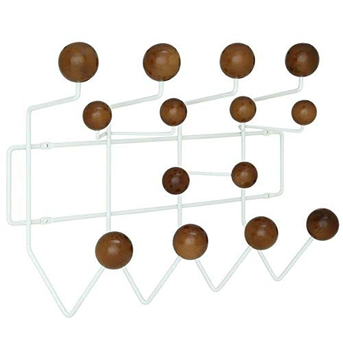 Gumball Wall Mount Coat Rack in Walnut- Sold by: Mike's Garage Sale -