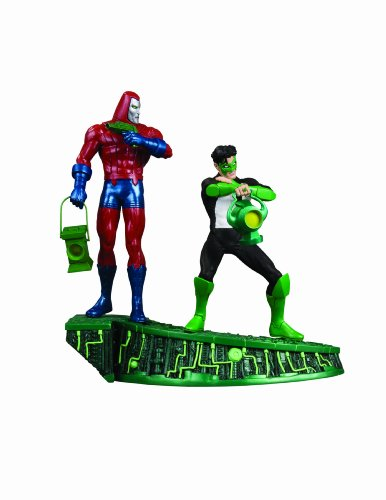 [Green Lantern: Legacies Multi-Part Statue: Part 2: Kyle Rayner and a Manhunter Robot] (Kyle Rayner Costumes)