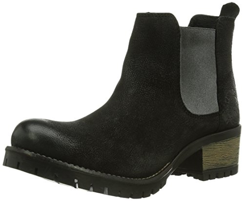Noir 26460 Femme S oliver Boots 5Iaxgq